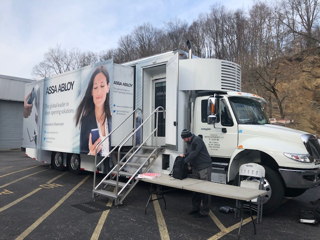 Assa Abloy Mobile Innovation Showroom